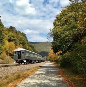 bikes and train